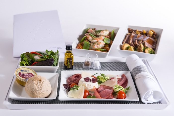 Michelin-starred Belgian chefs will create special dishes for Brussels Airlines.
