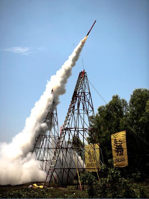 A successful launch.