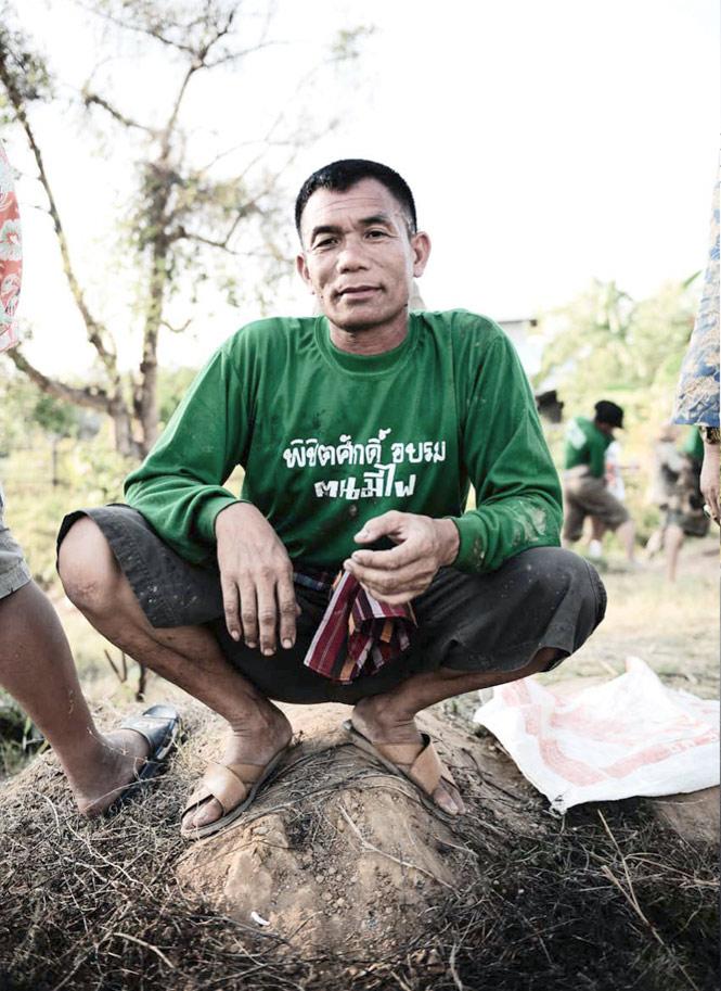 Rocket builder Adisak Wongsaran.