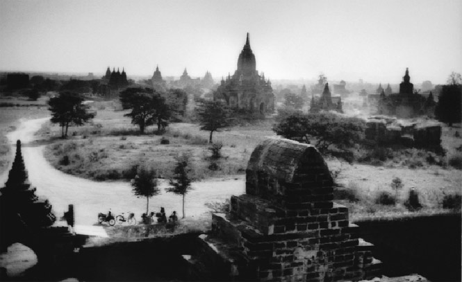 Overlooking some of Bagan's 2,000 or so temples at dawn.