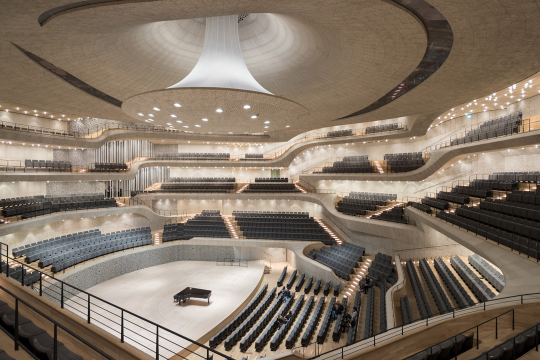 Elbphilharmonie's Grand Hall (Photo: Iwan Baan).