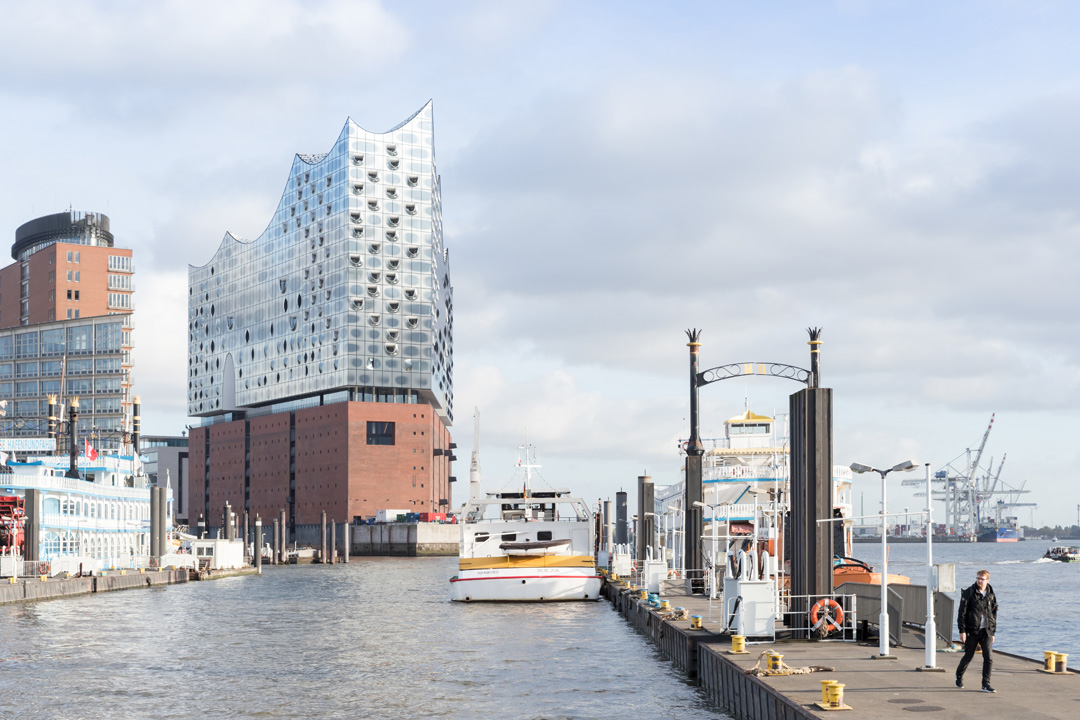 The exterior of Elbphilharmonie (Photo: Iwan Baan).