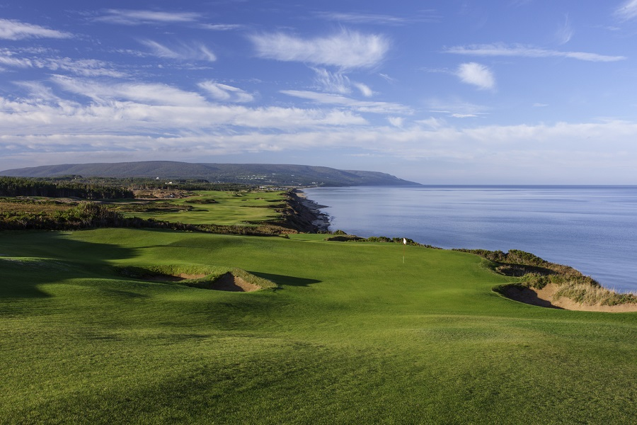 Cabot Cliffs is set to open in 2016.
