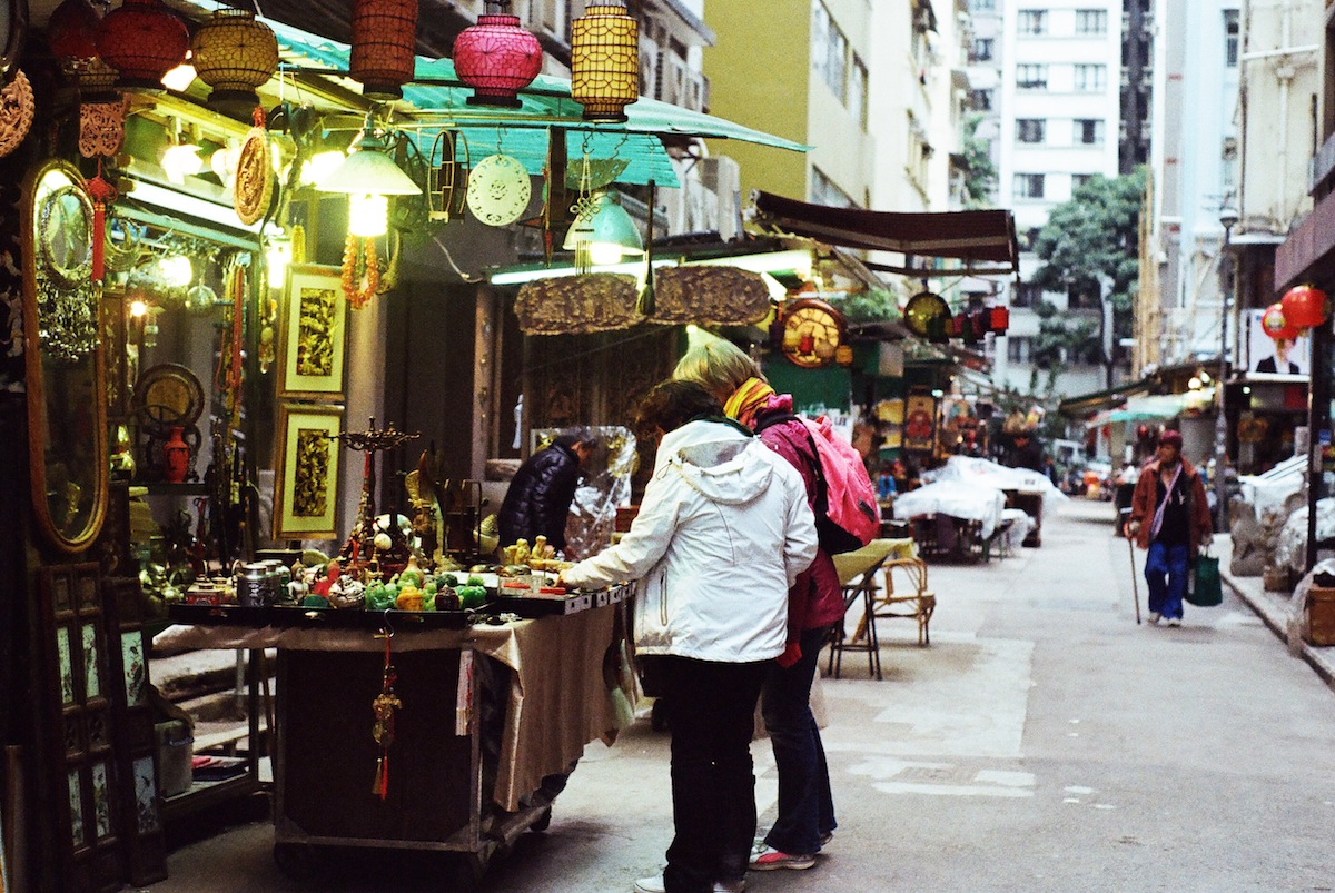 Shop the overflowing stalls of Cat Street. Photo by Cindy Chan