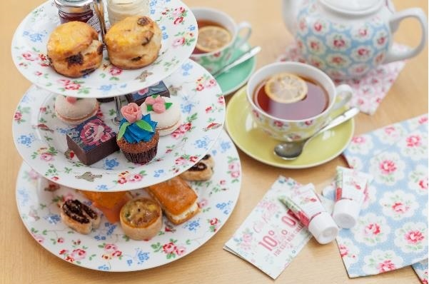 All tea-goers will receive Kidston hand cream and a discount card.
