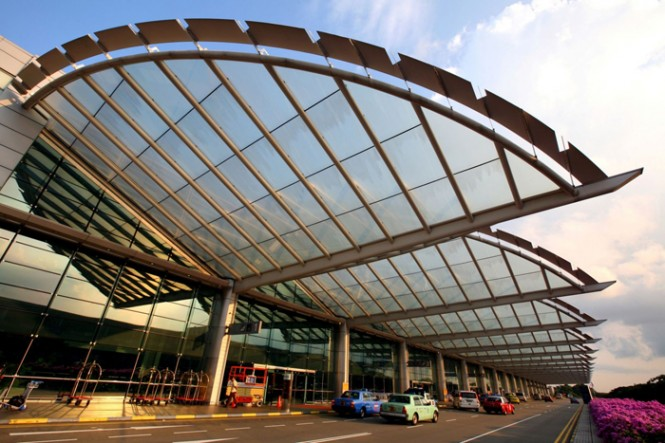 Singapore's Changi Airport ranks as the world's 15th busiest.