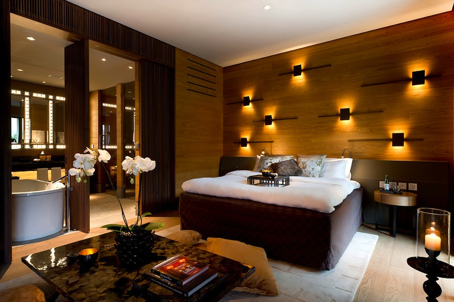 Accommodations at The Chedi Andermatt & Residences.