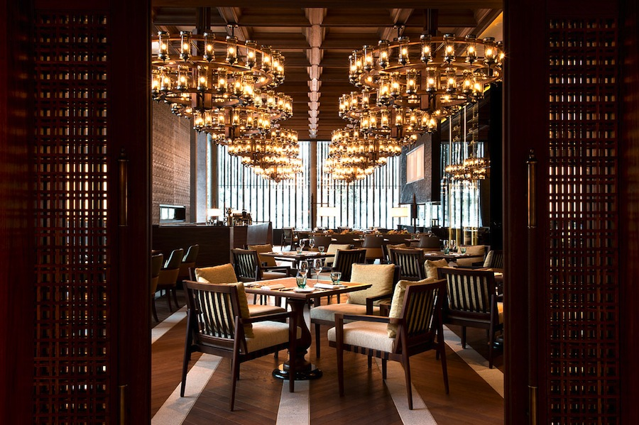 The hotel offers seven dining venues.