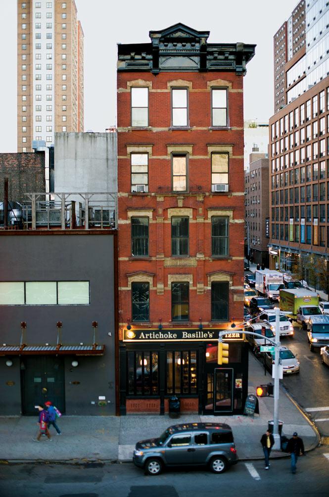 a West Chelsea street corner.