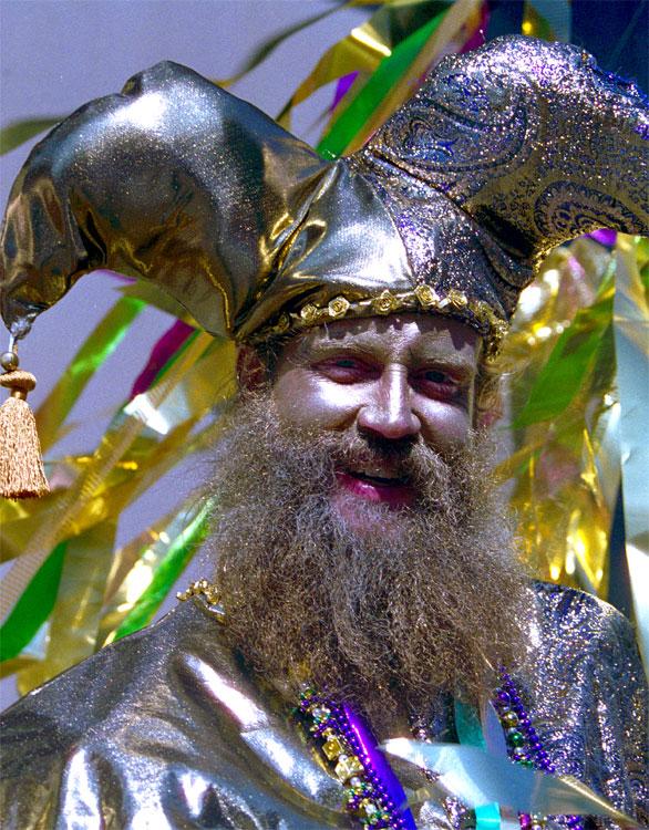 New Orleans starts celebrating Mardi Gras on February 15.