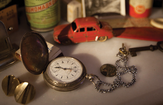 Just a few of the hundreds of objects that form the collection of Istanbul's Museum of Innocence.