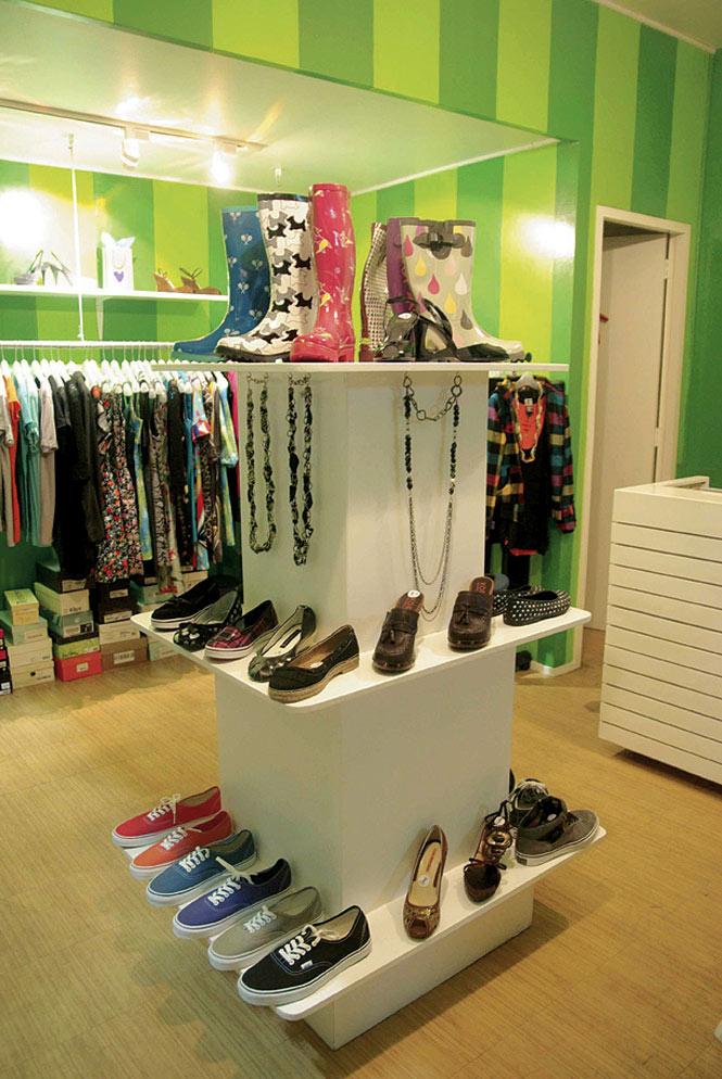 Angela Gurango's clothing boutique