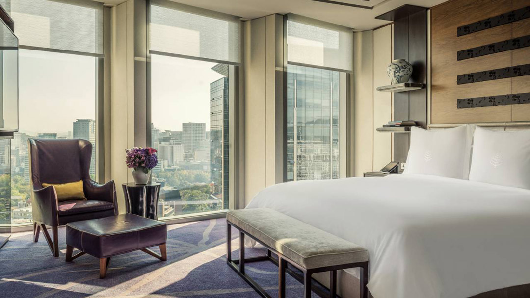 Reserved opulence at the Four Seasons Hotel Seoul.