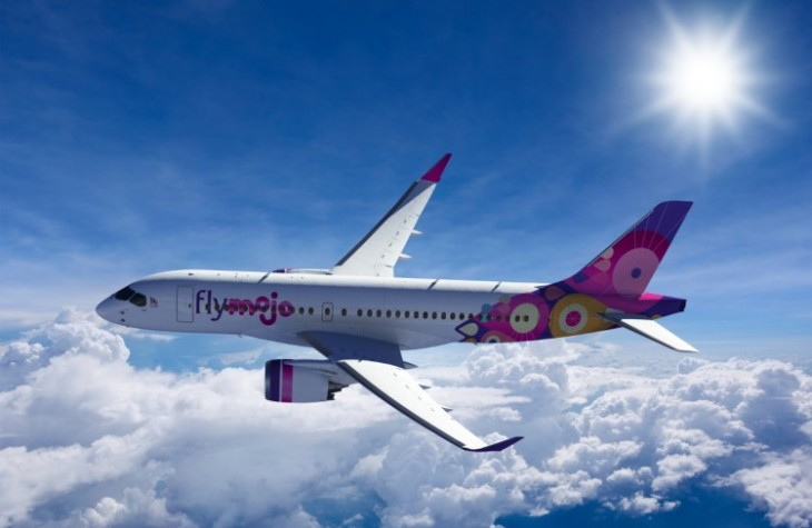 Flymojo will be the only airline in the region to order and operate the CS100.