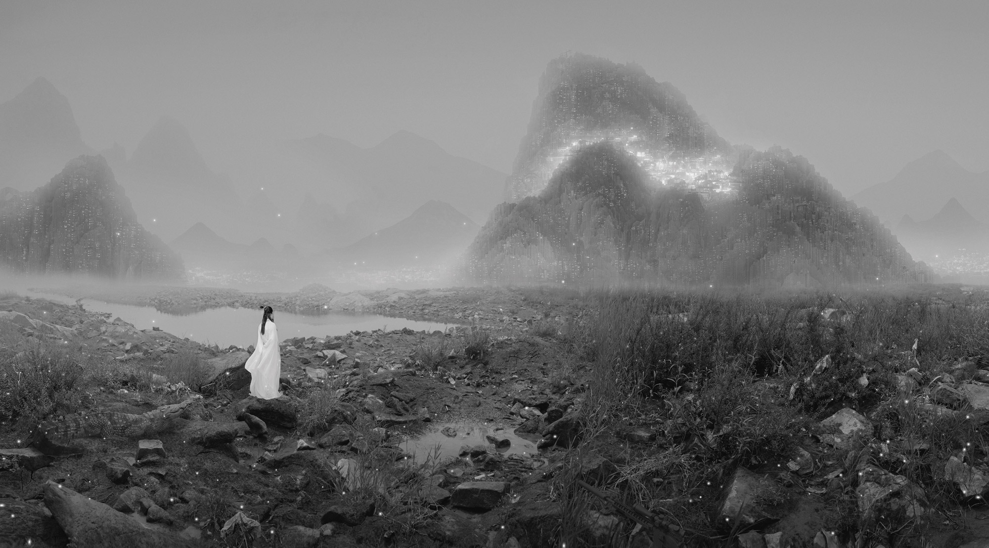 The Silent Valley. Courtesy of Galerie Paris-Beijing.