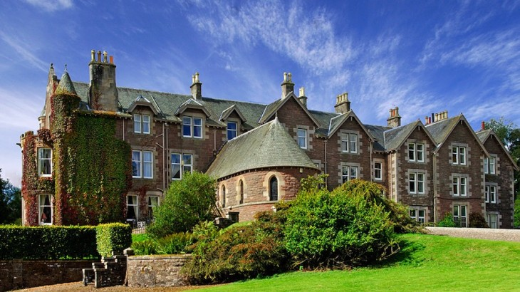 The 140-year-old manor house now sports 15 elegant, individually designed rooms.