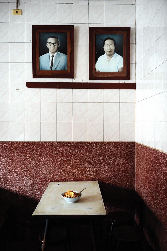 A table at Jibgi Ped Yang.