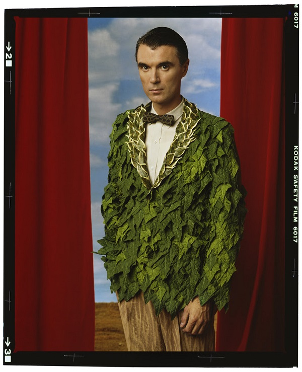 Annie Leibovitz, David Byrne, Los Angeles, California, 1986, archival pigment print, 30.5 x 25.5 inches Photograph © Annie Leibovitz