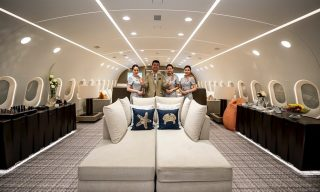 Amazing Private Jet by Deer Jet