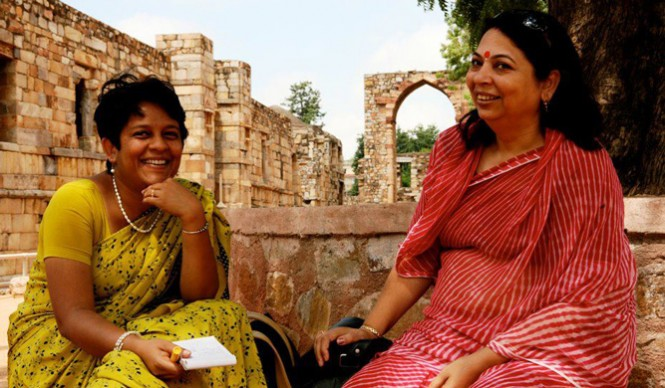 Deepa Krishnan, left, runs Delhi Magic Tours.