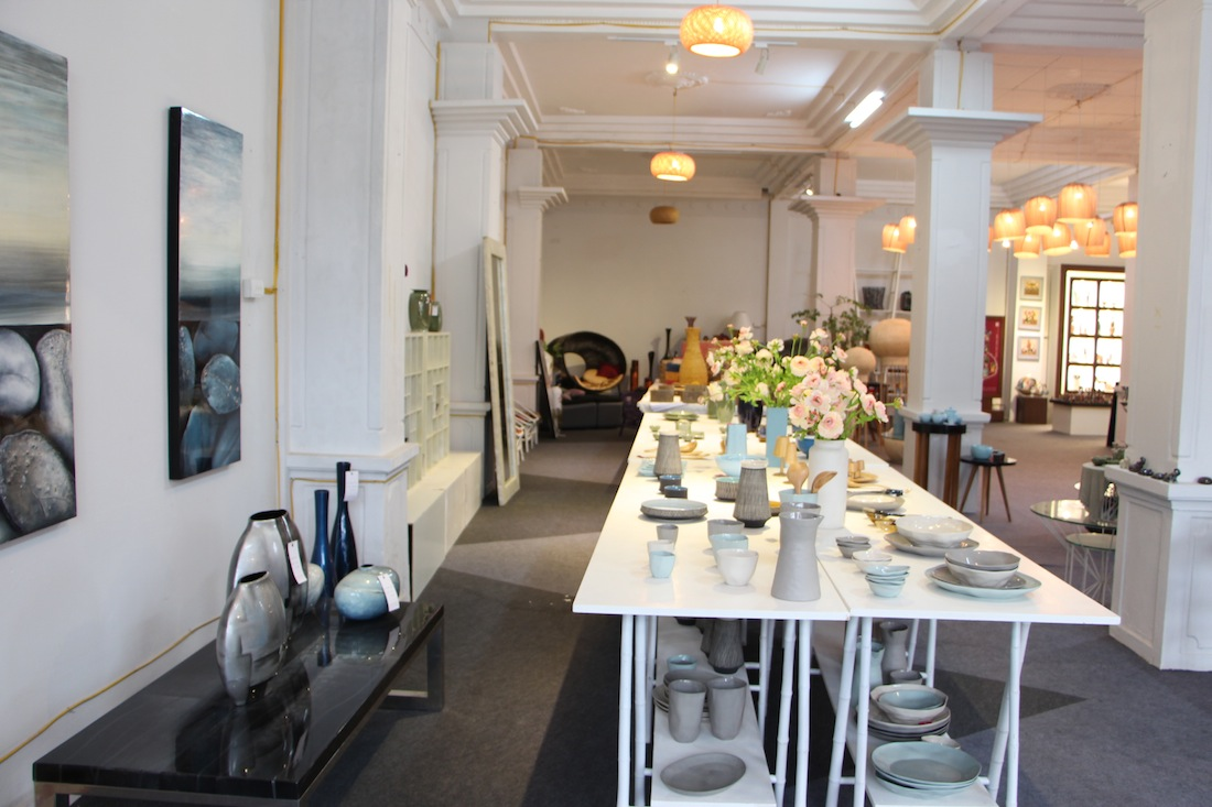 Check out the locally sourced wares of Hanoi Design Centre.