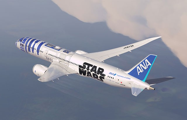 ANA's Star Wars–themed aircraft