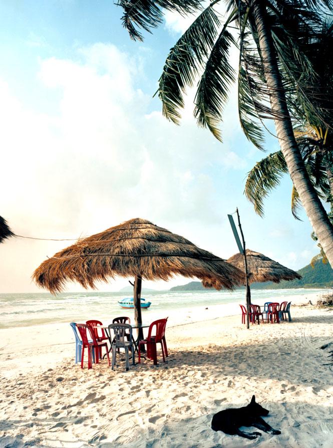 Phu Quoc's Bai Sao beach.