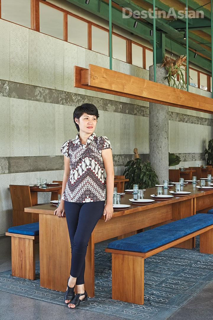 Lisa Virgiano, the brand director of Kaum Restaurant.