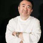 Tetsuya at his new eatery, Waku Ghin.