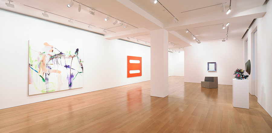 The gallery's space in the Pedder Building.