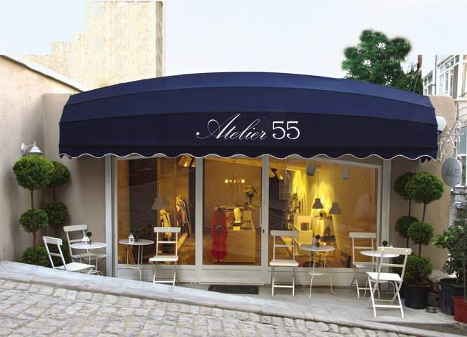 Atelier 55 stocks clothes and accessories by young local designers alongside a well-edited selection of global labels.