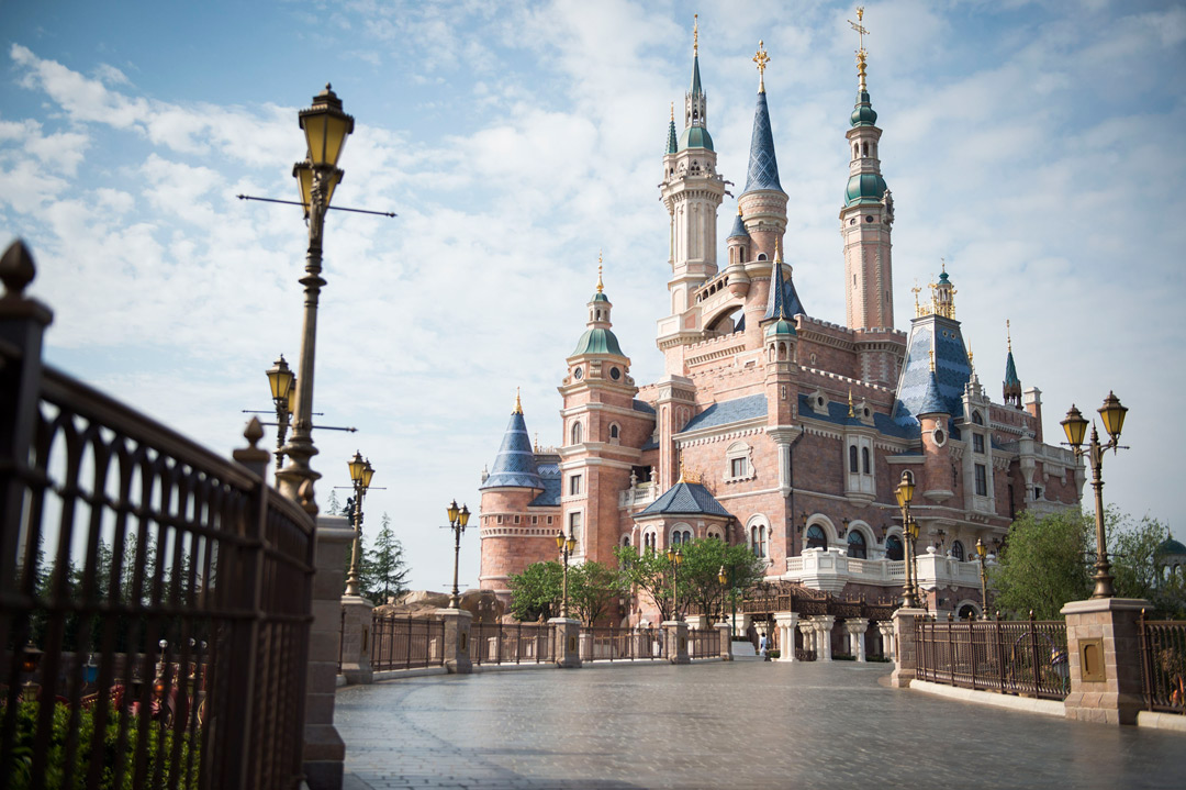 Enchanted Storybook Castle at Shanghai Disney Resort