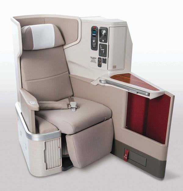 Dragonair's new First Class seating.