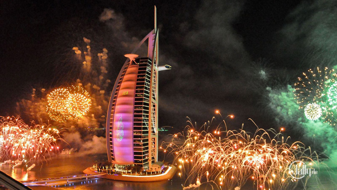 Dubai's 2014 fireworks display managed to break the Guinness World Record.