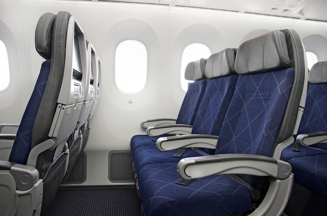 The Main Cabin Extra seats offer up to 13 more centimeters of leg space.