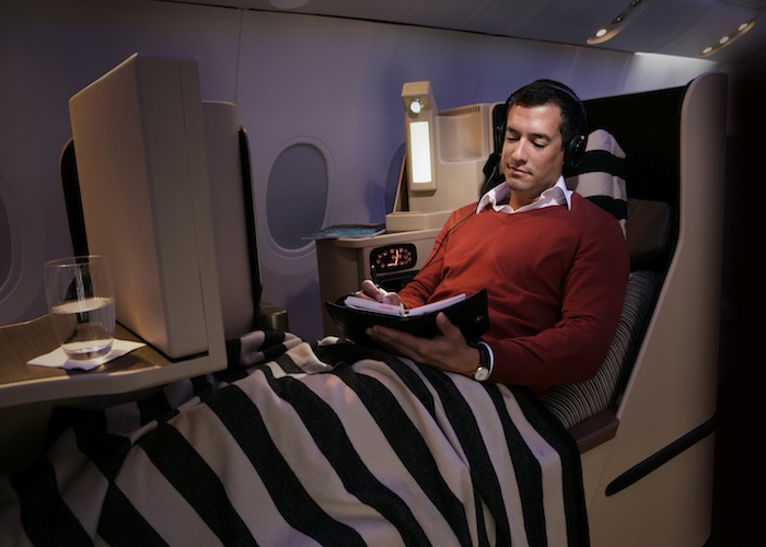 The new route will have 40 seats in its Business Class cabin.