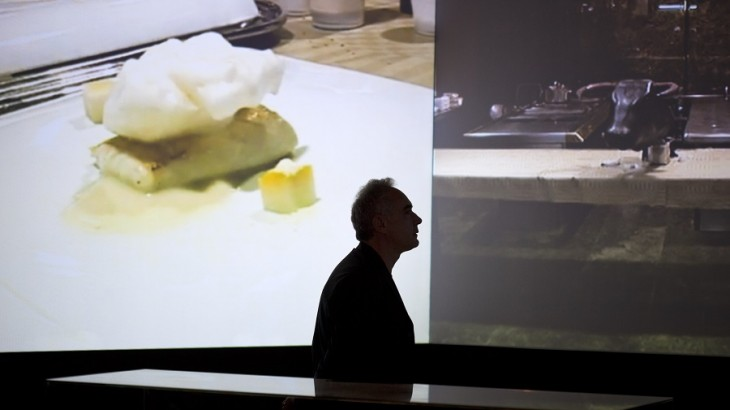 The exhibit is the Catalan chef's first in Milan and largest to date.