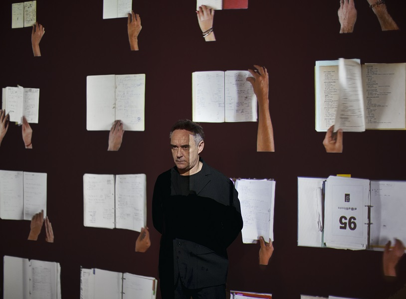 'All I have done is look back analyse and every step we took,' said Adrià of the exhibit.
