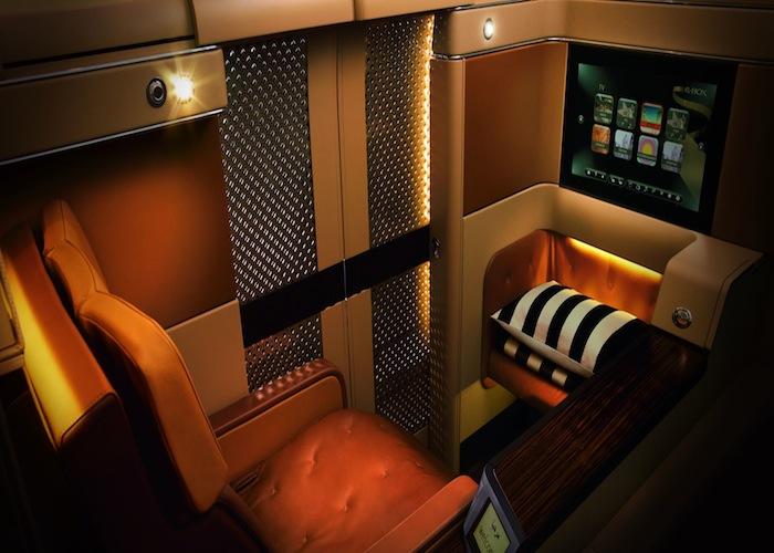 Etihad's Diamond First Class suite.
