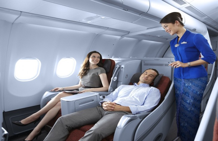 Garuda's new Jakarta-Amsterdam route will have a two-class configuration.