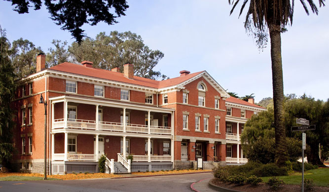 The Inn at Presidio hotel in San Francisco.