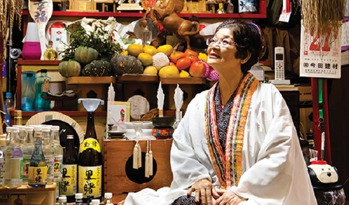 Yuta (shaman) like Sadae Sakae on Amami Oshima