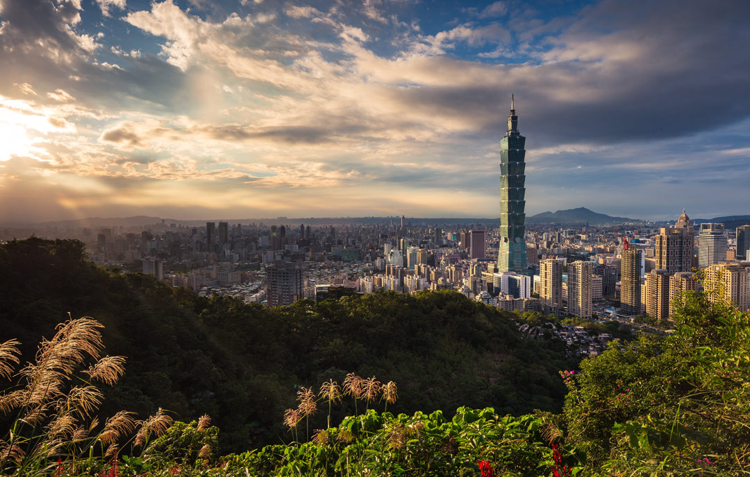 Taipei's skyline beckons. (Photo: Thomas Tucker)