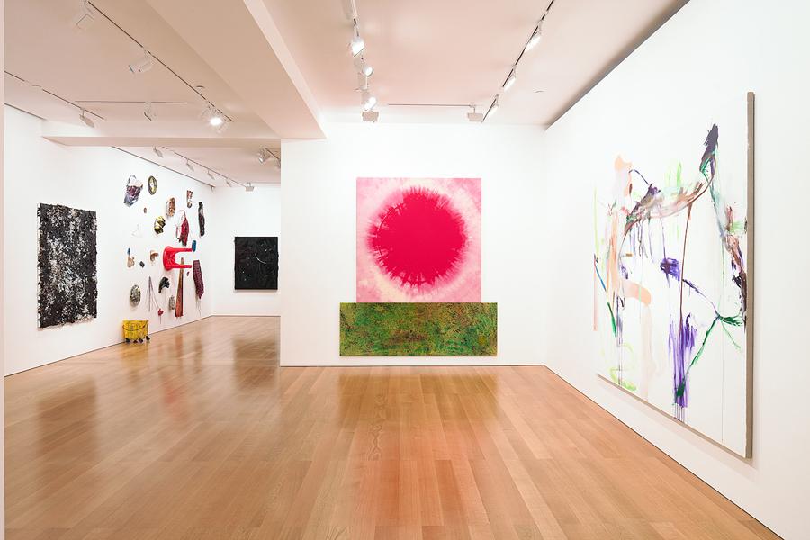The exhibition runs through May 4. Photographs courtesy of Gagosian Gallery.