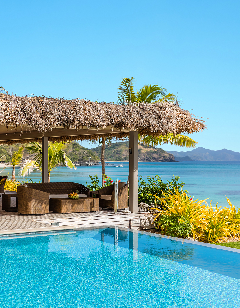 Kokomo Island Fiji's hilltop residences come with arresting lagoon views.