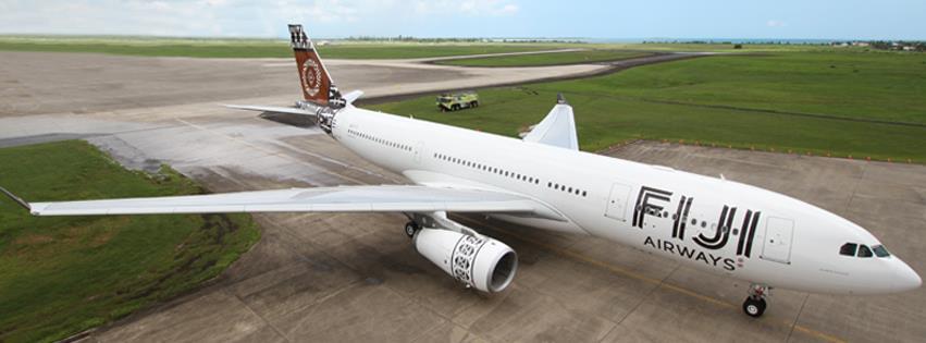 Fiji Airways' new look.