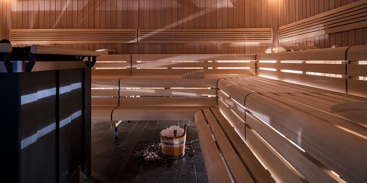 The Finnish sauna.