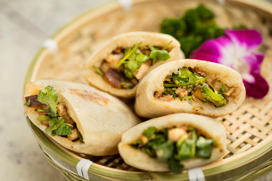 Flatbread Pockets at Lost Heaven Silk Road