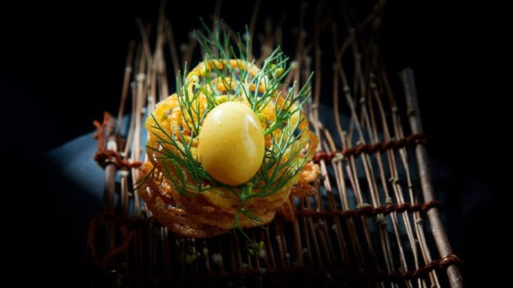 Bangkok's Gaggan restaurant attempts to revolutionize the concept of traditional Indian cuisine.