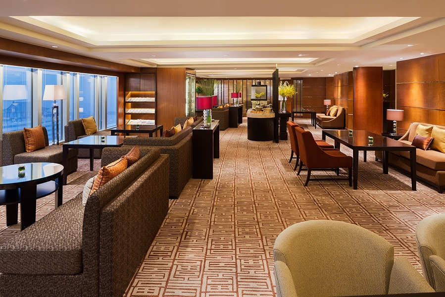 The hotel's Grand Club Lounge has also been remodeled, re-opened in March.